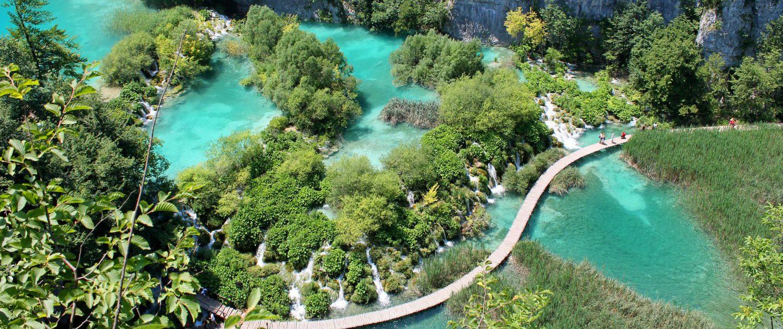 Parc national de Plitvicer Seen en Croatie par Pascal Habermann