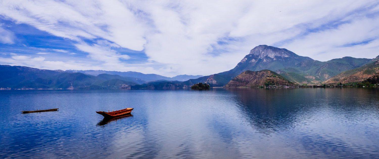 Lac en Asie par Jiawei Chen