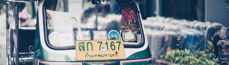 Taxi de Bangkok par Sven Scheuermeier