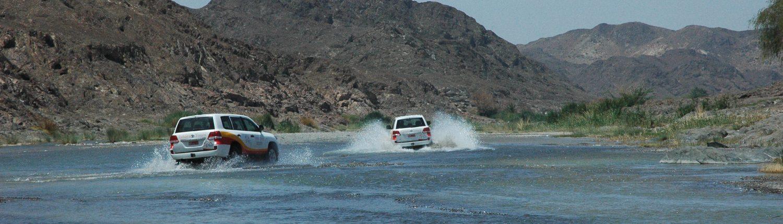 Jeeps à Oman