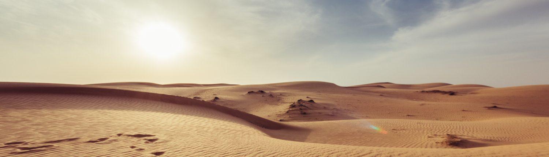 Désert à Oman par Giorgio Parravicini